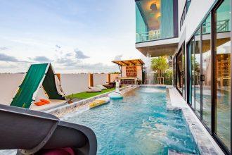 ภาพบรรยากาศบ้านพัก Wonder 3 Pool Villa หัวหิน-5