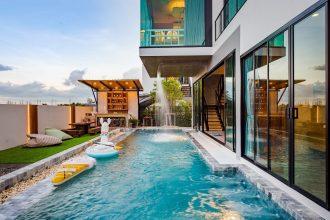 ภาพบรรยากาศบ้านพัก Wonder 3 Pool Villa หัวหิน-6