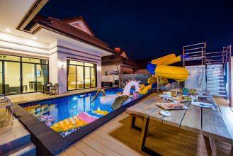 ภาพบรรยากาศบ้านพัก Bubble Hua Hin Pool Villa หัวหิน-2