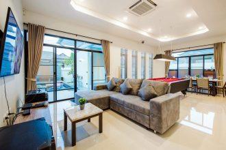 ภาพบรรยากาศบ้านพัก Bubble Hua Hin Pool Villa หัวหิน-5
