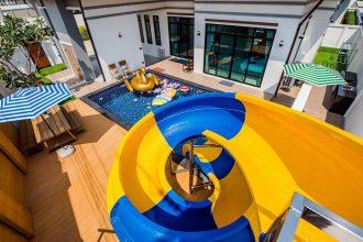 ภาพบรรยากาศบ้านพัก Bubble Hua Hin Pool Villa หัวหิน-3
