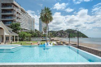 ภาพบรรยากาศบ้านพัก Khao Tao Beachfront Pool Villa หัวหิน-3