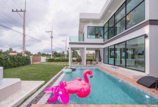 ภาพบรรยากาศบ้านพัก The Summer Pool Villa Cha-am หัวหิน-4